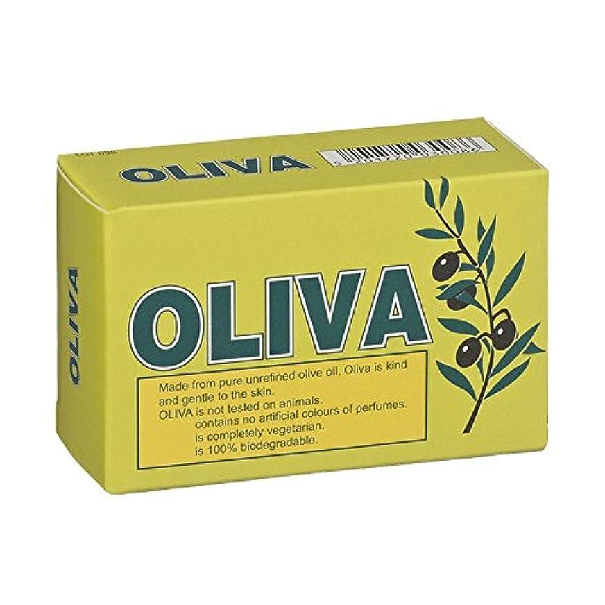 きしむセラフ信頼Oliva Pure Olive Oil Soap (Pack of 6) - オリバ純粋なオリーブオイル石鹸 (x6) [並行輸入品]