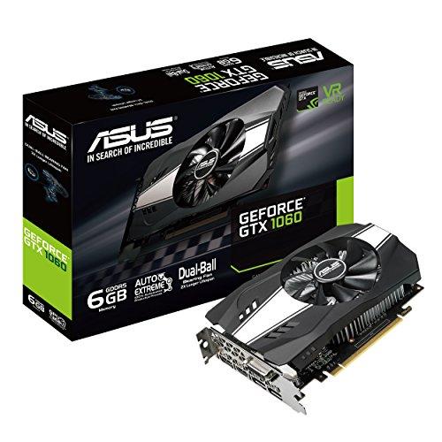 ASUS NVIDIA GeForce GTX 1060 搭載 シングルファンモデル 6GB PH-GTX1060-6G
