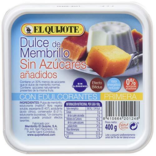 El Quijote Membrillo Quijote Fiambrera, 400g