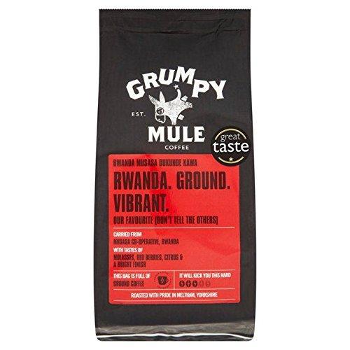 Grumpy Mule Ruanda Musasa Gemahlenen Kaffee 227G