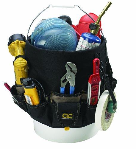 CLC Custom Leathercraft 1119 Bucket Caddy Organizer, 48 Pocket