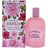 L'Erbolario - Shades of Dahlia - Fragrance for Fabrics & Pillows - Citrus, Floral Scent - Freshen Up & Perfume Linens & Pillows for a Relaxing Atmosphere, 4.2 oz