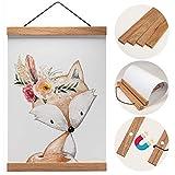 Holz Bilderrahmen hochwertig aus Eiche für Wandbilder,