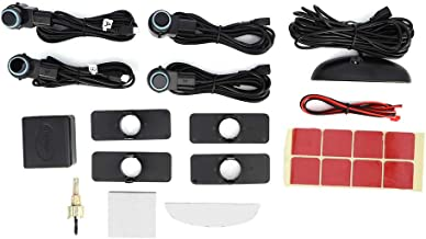 $50 » Qiilu Parking Radar System, Intelligent Parking Radar Alert Kit 4 Sensor Probe LED Display Automobile Reverse Assistance S...