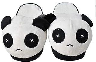 Faith Wings Chaussures Chaussons Thermiques Hiver Chaud Doux en Peluche ménagers en Motif de Panda - Taille Unique
