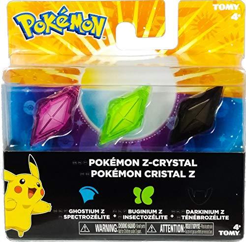 Bizak Pokémon – Set mit 3 Kristallen, Z-Ring, Geister/Insekt/Diablo 30699210