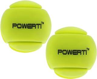 Baoblaze Tennis Vibration Dampeners, Silicone Ball Tennis Racket Racquet Strings Shock Absorber (2-Pack, 7/8'')