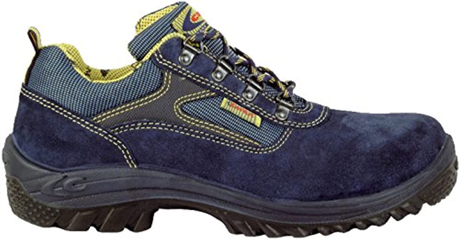 Cofra 63522-002.W42 Safety shoes Monza S3 SRC Size 42 in bluee