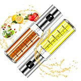 Oil Dispenser Bottle,2pack Oil Sprayer Dispenser For Cooking,Salad, BBQ, Kitchen Baking, R...