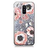 CASEiLIKE Coque Samsung A6 Plus 2018, Bouquets de Fleurs bohémiennes 2268, TPU Silicone Soft Housse Etui Coque pour Samsung Galaxy A6 Plus 2018