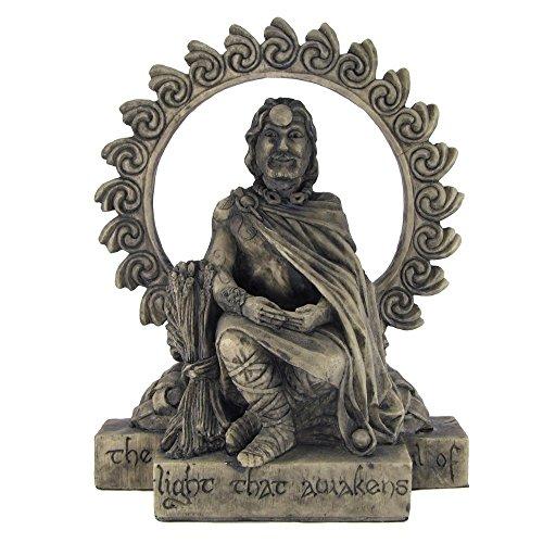 Celtic God Lugh Statue Stone Finish