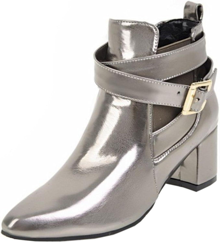 TAOFFEN Women's Fashion Bootie Boots