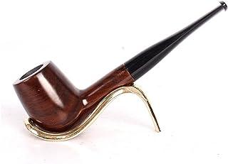 UrChoiceLtd Tabaco Pipa de Tabaco Clásico Marrón Ébano Elemento filtrante Tabaco