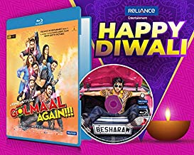 Golmaal Again + Besharam - 2 Hindi Movies (2 Blu-ray bundle offer)