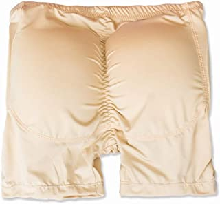 G&F Booty Padded Butt Lifter Underwear Enhancing Fake Ass Compression Body Shaper For Men (Color : Skin, Size : 5XL)