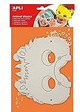 APLI Kids - Máscaras de cartón animales, 6 uds