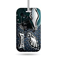 NFL Rico Industries Plastic Team Luggage Tag, Philadelphia Eagles
