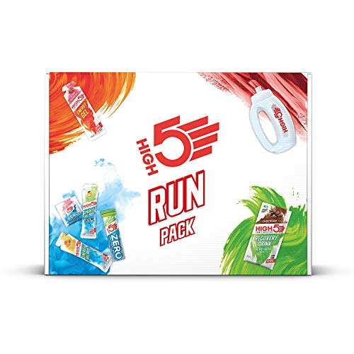 HIGH5 Run Pack Containing Our Best Selling Running Energy Hydration & Recovery Products