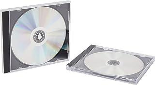 Vision Media 20 X Single CD Jewel Case Black Tray - 10.4mm Spine