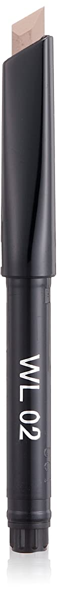 窒素怠惰少年キッカ エンスローリング アイブロウペンシル W (リフィル) 02 ライトウォルナッツ&ダークウォルナッツ WL アイブロウ