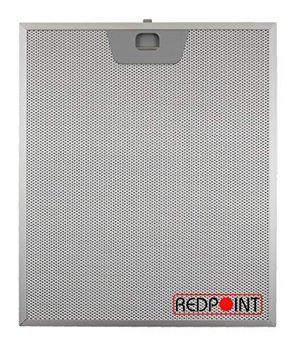 Faber Filtre pour hotte en aluminium métallique 25,5 x 30,0 x 8 mm