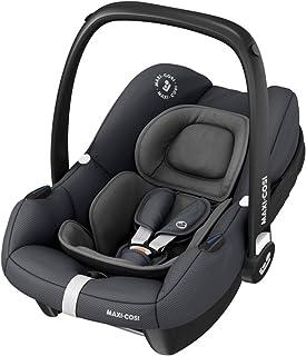Maxi-Cosi Tinca i-Size Babyschale, sehr leichter Gruppe 0 Autositz nur 3,2kg, inkl. Sonnenschutz, nutzbar ab der Geburt bis zu 75 cm 0-12 kg, Essential Graphite, Grau