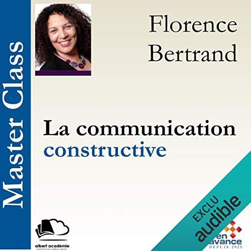 La communication constructive audiobook cover art