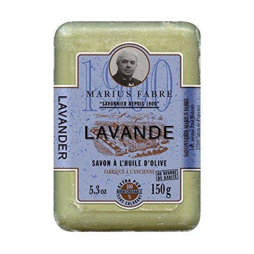 Marius Fabre LAVANDE Olivenöl-Seife Duftnote, 150g