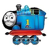 Gigante 78cm Thomas el motor del tanque y amigos Anagram–Globo de fiesta de cumpleaños niños tren hinchable