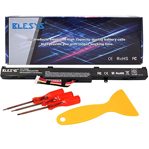 BLESYS Ersatz für Laptop Akku ASUS K751 K751L K751LA K751LAV K751LB K751LD K751LDV K751LJ K751LJC K751LK K751LN K751LX K751M K751MA K751MD K751MJ K751S K751SA K751SJ P750L P750LB A41-X550E Akku