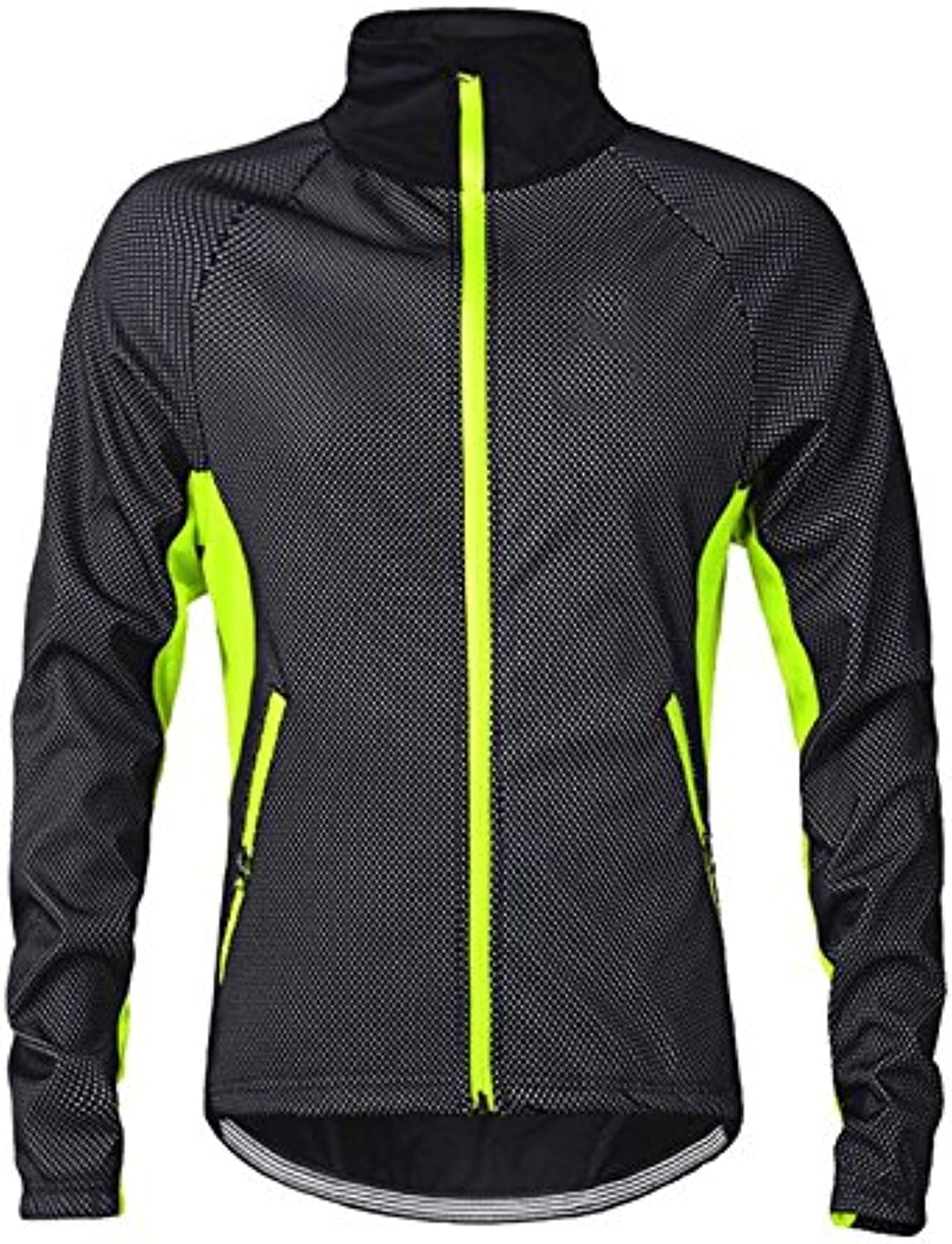 ROOMZOOM 1PC Unique Cycling Coat Long Sleeve Make You Feel More Comfortable Green 3XL