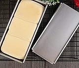 Astra Gourmet Bakeware aluminisierten Stahl Pullman Backen mit, 33x 14x 12,7cm, Aluminiumguss...