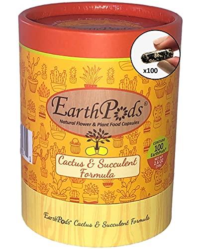EarthPods Premium Cactus & Succulent Plant Food