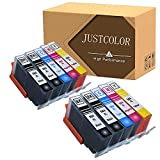 JUSTCOLOR 564XL Ink Cartridges Replacement for HP 564XL Use with HP Photosmart 7520 5514 5520 6520 7510 7515 7525 6510 C6380 B8550 Officejet 4620 Premium C410A Deskjet 3520 (4Bk+2C+2M+2Y)