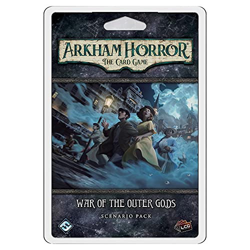 Arkham Horror The Card Game War of The Outer Gods Scenario Pack   Horror Game   Mystery Game  ...