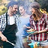 GRILLHIT X Schürze 100% Baumwolle, Kochschürze, Grillschürze für Männer, mit Tasche - 3