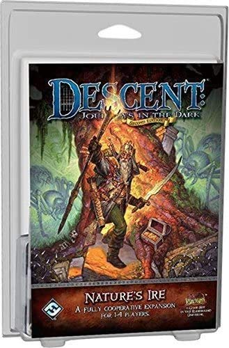 Descent 2nd Edition - Natur Ire - Karten - Fantasy Flight