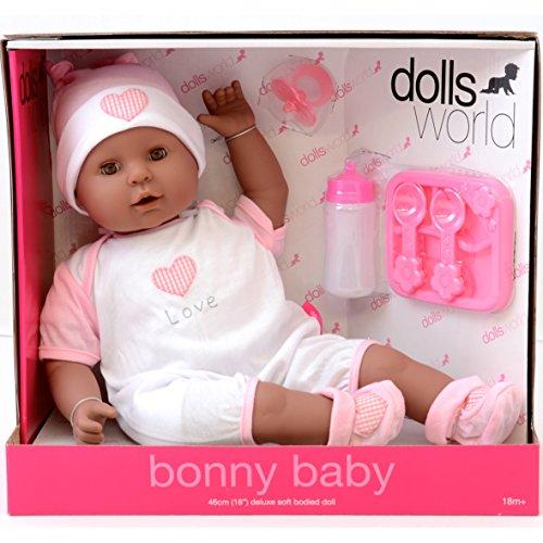 Dolls World Bonny Poupée de bébé Noir