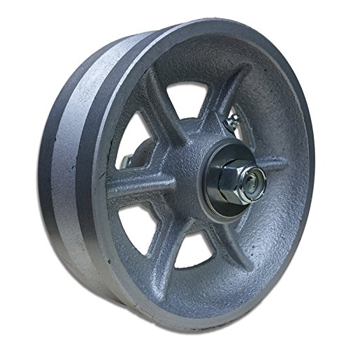 Wheels - 6-inch CAST V Groove Wheel V Groove NO Bracket Sliding Gate Hardware