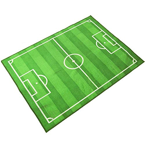 YZJL Kinder Teppiche Pädagogische Spielmatte Fußballplatz Weltcup Teppich Kinder Schlafzimmer Teppiche 80X120 cm (Size : 133x190cm)