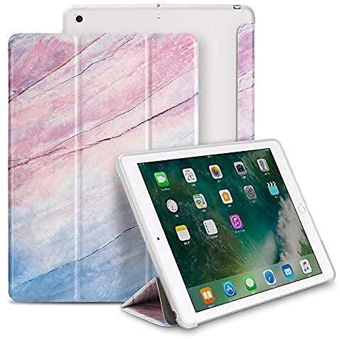 YIU Funda para iPad 2/3/4 9.7 - Ligero Smart Slim Shell Translúcido Frosted Contraportada Protector Soporta Auto Wake/Sleep