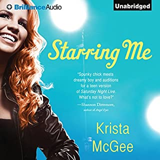 Starring Me                   By:                                                                                                                                 Krista McGee                               Narrated by:                                                                                                                                 Tara Sands                      Length: 8 hrs and 17 mins     4 ratings     Overall 3.8