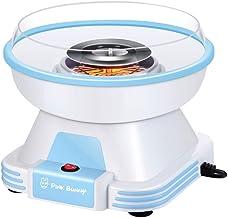 LIUSHENGFUBH Machines à Barbe à Papa Mini Coton Candy Maker Machine Machine rétro Rose Coton Candy Maker for Enfants, Cade...