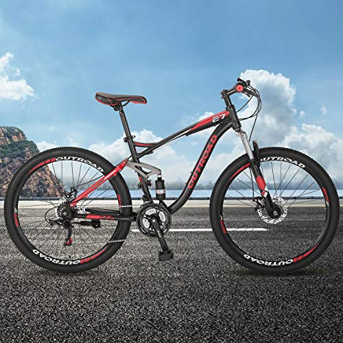 517tCu50XAL Outroad Fat Tire Mountain Bike