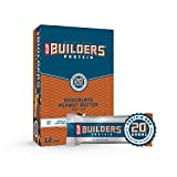 CLIF BUILDERS - Protein Bars - Chocolate Peanut Butter Flavor - 20g...
