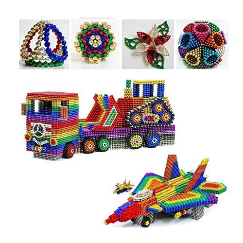 DEHU Magic Building Block Spielzeug, 1000 Stück 5mm Magic Building Blocks Für Die Intellektuelle Entwicklung Und Stressabbau