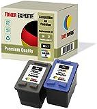 Pack de 2 XL TONER EXPERTE® Cartuchos de Tinta compatibles con HP 56 HP 57 C6656AE C6657AE Photosmart 7260 7350 7450 7660 C4180 C4280 C5280 Deskjet 5150 5550 450CBi Officejet 5610 4215 (Negro, Color)