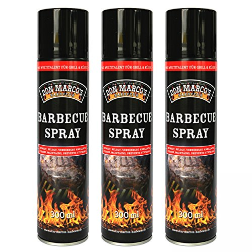 DON MARCO'S BARBECUE KS0425 Don Marco´s Barbecue Spray 3er-Set