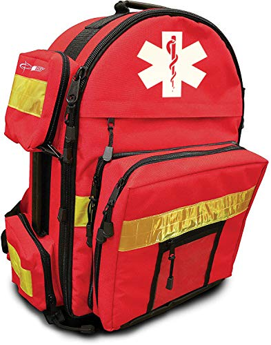 Primacare KP-4183 Trauma Back Pack, 17' Length x 6' Width x 19' Height