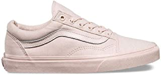 Mono Canvas Old Skool Peach Blush Sneakers Shoes (8.5 Women / 7 Men M US)